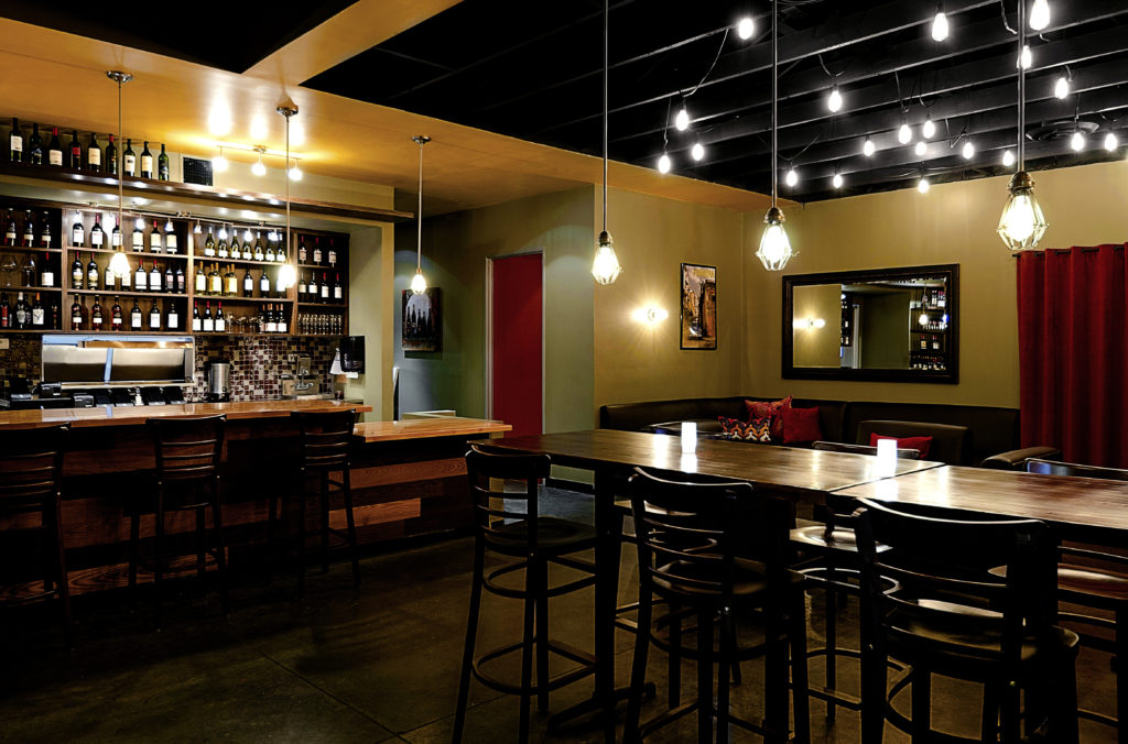 Wine Bar and Lounge - Four Point Design Build