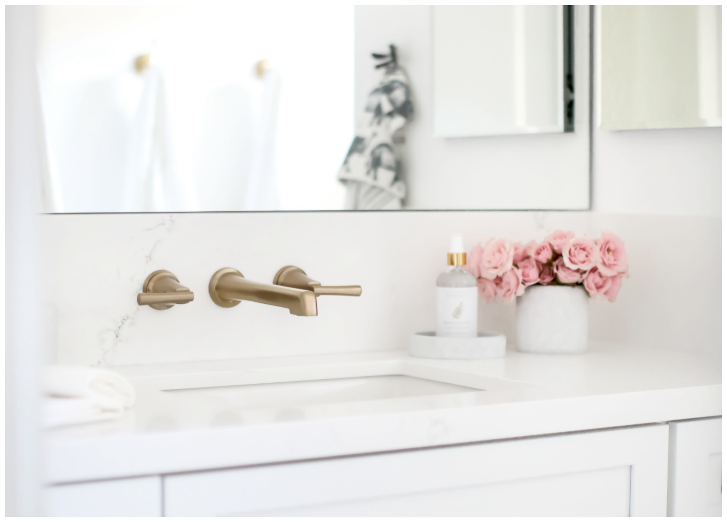 A Modern Farmhouse Design Kid S Bath Makeover